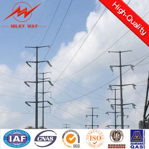 Steel Distribution Pole for 69kv Transmission Line pictures & photos