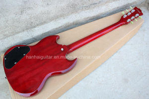 Hanhai Music / Red Electric Guitar with Ebony Fingerboard pictures & photos