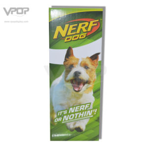 Nerf Dog Cardboard Square Bin with Cardboard Support