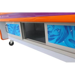 Three-Layer Dish Oder Refrigerator with Thermostat Switch pictures & photos