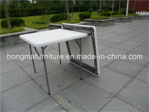Portable Square Table for Outdoor Use pictures & photos
