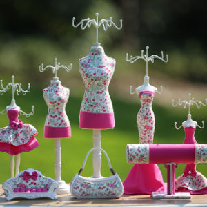 Pink Jewelry Doll Holder Display Decorative Mannequin Doll Necklace Hanging pictures & photos