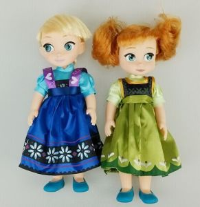 12 Inch Plastic Frozen Doll Anna Elsa Doll (without music) pictures & photos