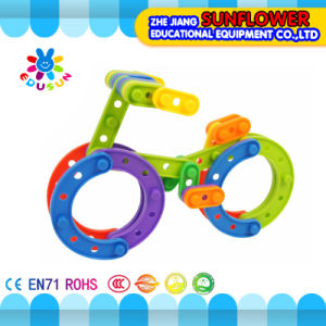 Building Blocks Toys Intellectual Toys, Colorful Plastic Desk Blocks Toy, DIY Toys pictures & photos