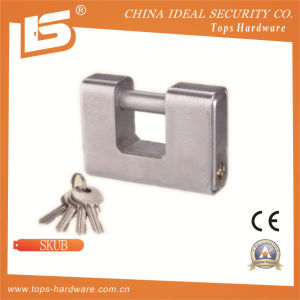 High Quality Iron Rectangle Padlock (SKUB) pictures & photos