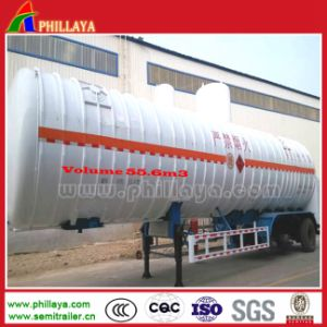 Liquefied Natural Gas Tank LNG Tanker Transport Semi Trailer pictures & photos