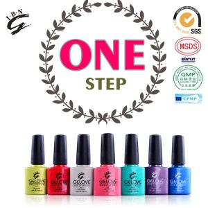 Private Label Nail Art One Step UV Gel Nail Polish pictures & photos