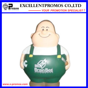 Customized Logo People Shape PU Stress Toy (EP-521A) pictures & photos