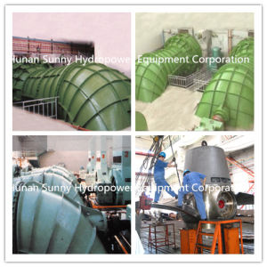 Propeller Hydro (Water) Turbine-Generator 3-12 Meter Head 150kw~2400kw /Hydropower / Hydroturbine pictures & photos