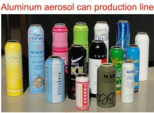 Aluminum Spray Cans Making Line pictures & photos