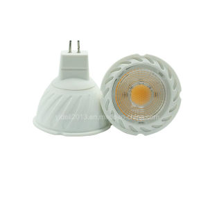 New GU10 MR16 5W Dimmable COB LED Bulb Downlight Spotlight pictures & photos