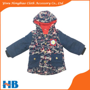 Padded Coat High Fashion New Design Children Clothing