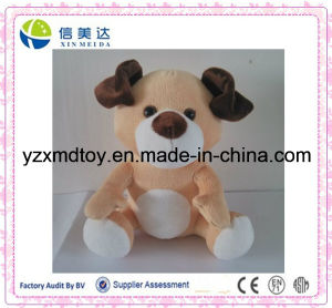Custom Plush Repeat Talking Dog Soft Toy pictures & photos