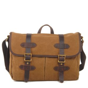 Man Canvas Cheap Bag Wholesale Messenger Bag (RS-1995-1) pictures & photos