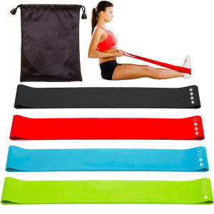 Yoga-Style Stretching Band Fitness Power Resistance Band Loop pictures & photos