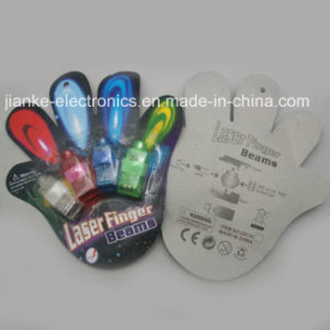LED Finger Light Beam Christmas Souvenir with Logo Print (4012) pictures & photos