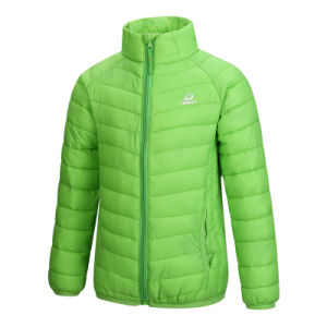 Down Jacket Feather Down Graduate Color Coat Jacket for Man Children 603