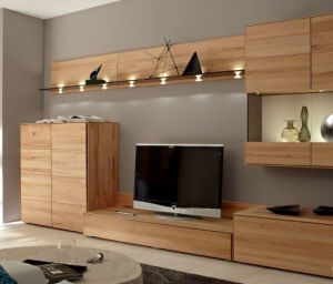 latest with veneer lamination mdf wooden tv stand china wood tv