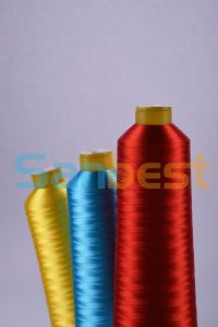 Premium Colorful Polyester Embroidery Thread for Embroidery pictures & photos