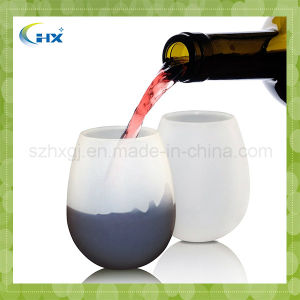 Factory Price Unbreakable Food Grade Silicone Wine Glass
