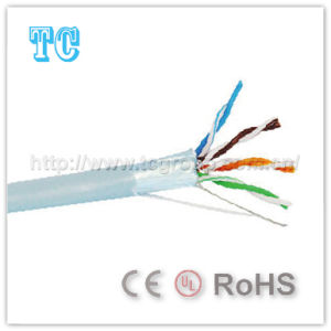 Ce/CCA Certificate Cat 5e FTP Network Cable pictures & photos