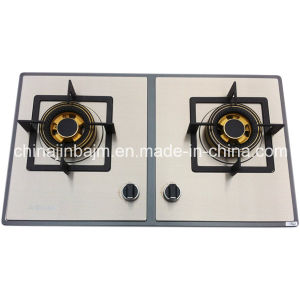 2 Burners 730 Length, Color-Coated Stainless Steel Built-in Hob/Gas Hob pictures & photos
