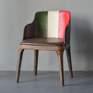 Italian Flag Leather Armrest Poliform Grace Chair (SP-HC315) pictures & photos