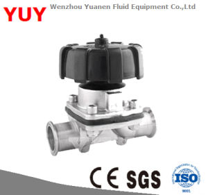 Sanitary Stainless Steel Diaphragm Valve for Pharmacy, Food and Beverage Equipments