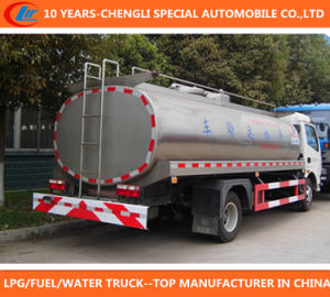Milk Tanker Truck 4X2 Milk Truck Dongfeng 4X2 Milk Truck pictures & photos