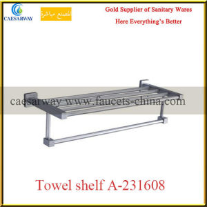 Sanitary Ware Bathroom Accessories All Brass Towel Shelf pictures & photos