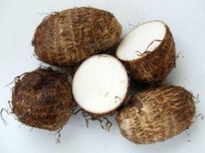 Fresh Taro Colocasia Roots pictures & photos