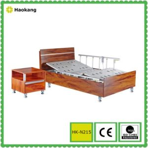 Hospital Wooden Bed for Electric Adjustable Medical Equipment (HK-N215) pictures & photos