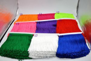 Wholesale 15cm Polyester High Quality Thickness Fringe for Dancing Dress pictures & photos