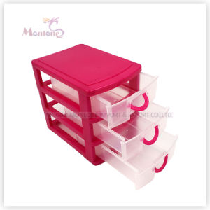 Wholesale 3-Layer Home Storage Cabinet Container Organizer Plastic Storage Drawers pictures & photos