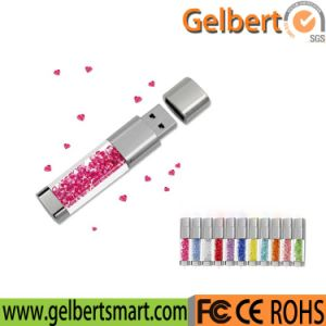 Techkey Jewelry Crystal USB Flash Drive for Gifts pictures & photos