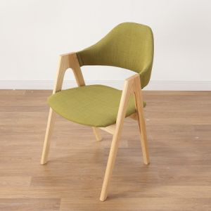 Nordic Style Coffee Solid Wood Chair pictures & photos
