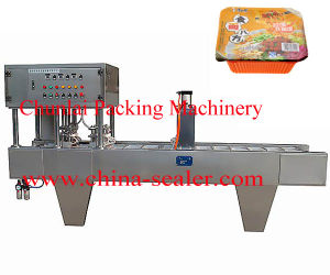 Automatic Instant Noodle Bowl Sealing Machine pictures & photos