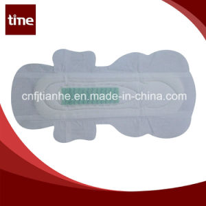 Cotton Cover Sanitary Napkin Lady Soft Female Napkin pictures & photos