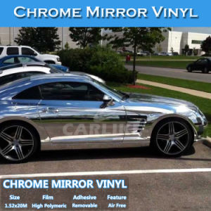 Car Accessories Good Stretchability Chrome Car Wrap Vinyl