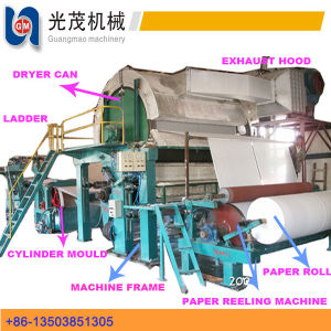 Company Logo Custom Printed Tissue Toilet Paper Making Machine pictures & photos