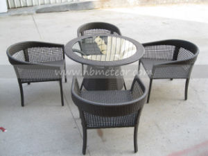 Mtc-084 Rattan Bistro Table and Chair Set pictures & photos