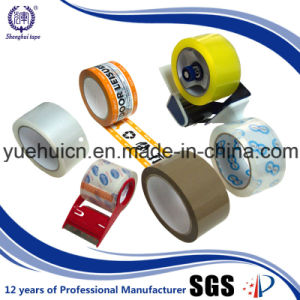 SGS Certificates Tranpsarent BOPP Acrylic Single Sided Packing Tape pictures & photos