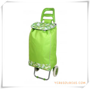 Two Wheels Shopping Trolley Bag for Promotional Gifts (HA82007) pictures & photos