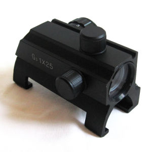 1X25mm Airsoft Aeg MP5/G3 Red/Green DOT Sight Scope pictures & photos