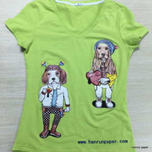 Iron on Transfer Paper, Easy Cutting Dark T-Shirt Heat Transfer Paper for 100% Cotton Fabric