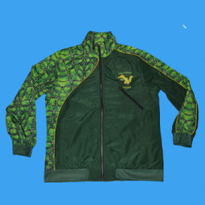 Custom Sublimation Tracksuit Top|Sublimated Jacket pictures & photos