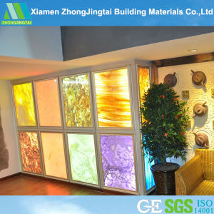 Translucent Artificial Yellow Onyx Stone for Wall / Floor pictures & photos