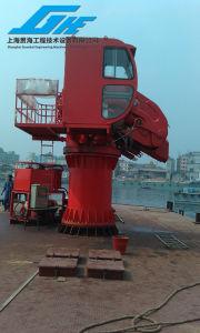 5t20m Knuckle Telescopic Boom Crane pictures & photos