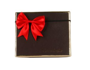 Small Red Satin Ribbon Gift Bow with Elastic pictures & photos