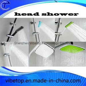 Brass Square Rainfall Head Shower Handheld Sets pictures & photos
